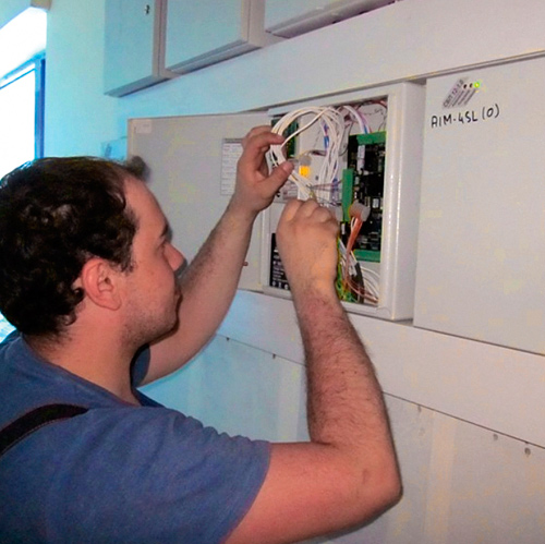 на сервисное техническое обслуживание оборудования пожарной сигнализации
